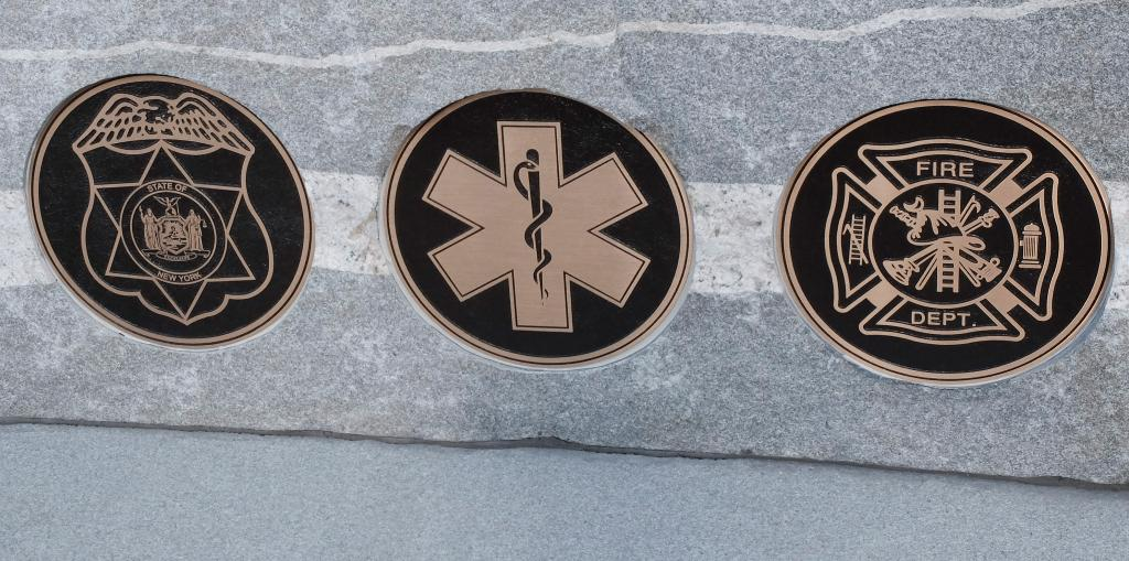 The First Responders section and monument at Rochester's Holy Sepulchre Cemetery was dedicated Sept. 9.