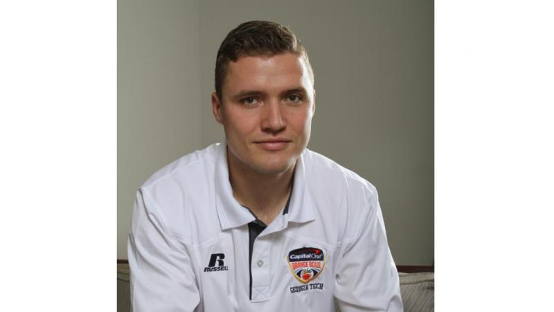 Grant Aasen, who graduated from Georgia Tech with a degree in industrial engineering in May, gave up his final year of football eligibility to begin studying for the priesthood.
