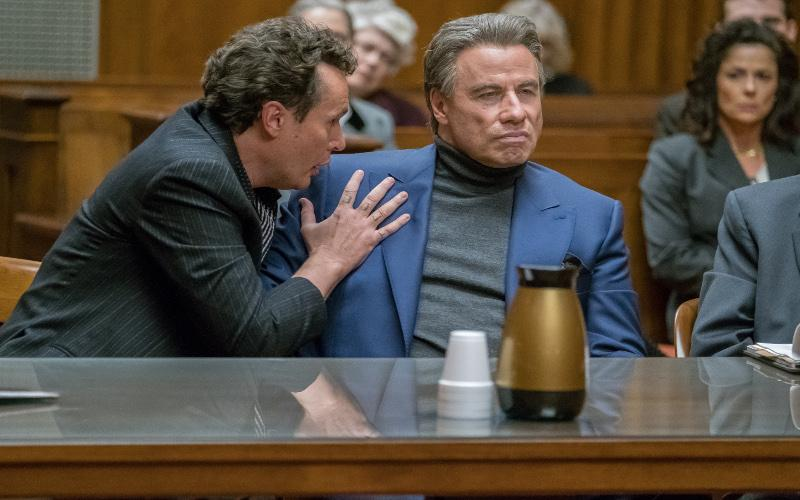 "John Travolta stars in a scene from the movie ""Gotti."" The Catholic News Service classification is A-III -- adults. The Motion Picture Association of America rating is R -- restricted. Under 17 requires accompanying parent or adult guardian."