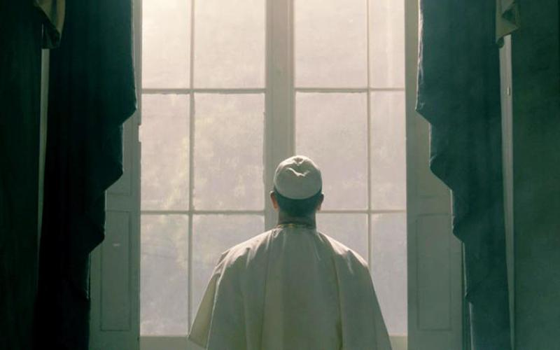 """This is a scene from CNN's new docuseries """"Pope: The Most Powerful Man in History."""" Narrated by popular Catholic actor Liam Neeson, the series debuts Sunday, March 11, 10-11 p.m. EDT, and will air in that slot throughout its six-week run, concluding Sunday, April 15. (CNS photo by CNN)"""