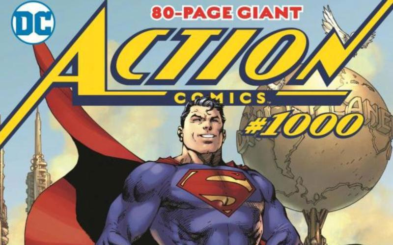 "This is a still of DC Comics series ""Superman in Action Comics No. 1,000."" 2018 marks eight decades since the first appearance of Superman in Action Comics No. 1. (CNS photo by DC Comics)"