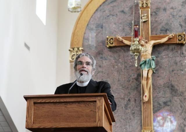 <p>Jesuit Brother Guy Consolmagno, director of the Vatican Observatory, urged an audience at Sts. Peter and Paul Church in Hopkinsville, Ky., Aug. 20 that celestial events such a total solar eclipse are a wonder of God's creation meant to be enjoyed. Brother Consolmagno was in Hopkinsville to view the Aug. 21 eclipse.  </p>