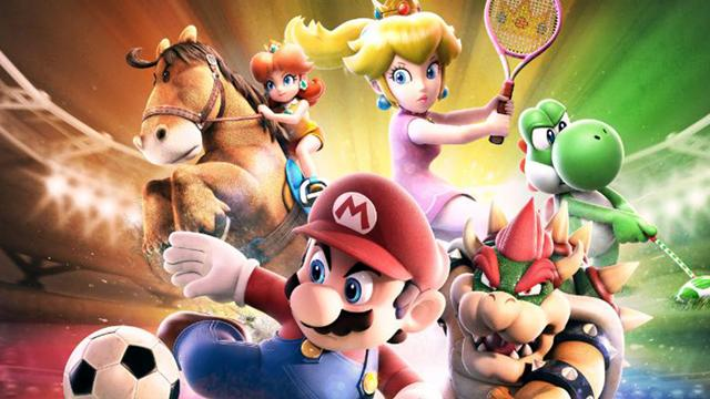 """This is a still from the video game """"Mario Sports Superstars."""" The Catholic News Service classification is A-I -- general patronage. The Entertainment Software Rating Board rating is E -- everyone."""