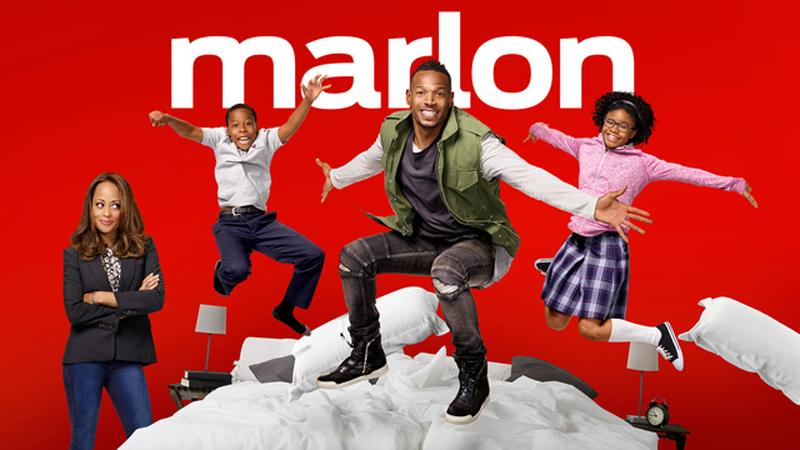 "The cast of ""Marlon"""