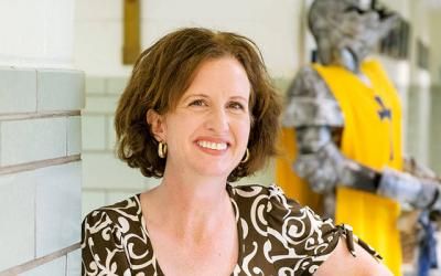 <p>Deborah Franklin is the new principal at Elmira Notre Dame High School.</p>