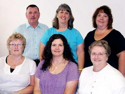 Catholic Charities Community Services leadership staff in 2010.
