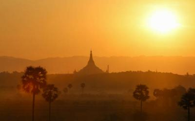<p> The Uppatasanti Pagoda in Naypyitaw, Myanmar, is seen Nov. 19. Greg Burke, director of the Vatican press office, said Pope Francis will meet with representatives of various religions present in Myanmar and with Gen. Min Aung Hlaing while in Myanmar. </p>
