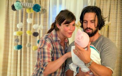 "Mandy Moore and Milo Ventimiglia star in a scene from the NBC drama ""This Is Us."" (CNS photo by Ron Batzdorff/NBC)"