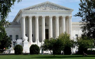The U.S. Supreme Court is seen in Washington Sept. 26. The Trump administration Oct. 6 issued interim rules expanding the exemption to the contraceptive mandate for religious employers, such as the Little Sisters of the Poor, who object on moral grounds to covering contraceptive and abortion-inducing drugs and devices in their employee health insurance.