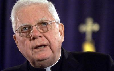 Cardinal Bernard F. Law, who had been one of the United States' most powerful and respected bishops until his legacy was blemished by the devastating sexual abuse of minors by priests in his Archdiocese of Boston, died early Dec. 20 in Rome at the age of 86. He is pictured in a 2002 photo in Washington. (CNS photo by Brendan McDermid/Reuters)