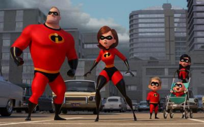 "This is a scene from the animated movie ""Incredibles 2."" (CNS photo by Disney/Pixar)"