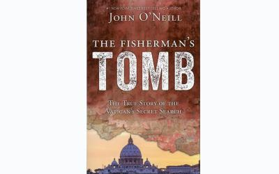 """This is the cover of """"The Fisherman's Tomb: The True Story of the Vatican's Secret Search"""" by John O'Neill. The book is reviewed by Mitch Finley. (Photo by CNS)"""
