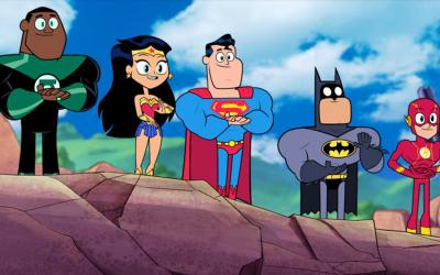 """Animated characters appear in the movie """"Teen Titans Go! To the Movies."""" (CNS photo by Warner Bros.)"""
