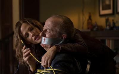 """Jennifer Garner and Jeff Harlan star in a scene from the movie """"Peppermint."""" (CNS photo by STX)"""
