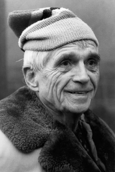 Jesuit Father Daniel Berrigan, an early critic of U.S. military intervention in Vietnam who for years challenged the country's reliance on military might, died April 30 at 94. He is pictured in an undated photo.