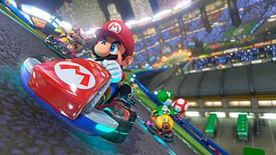 "This is an image from the video game ""Mario Kart 8."" The Catholic News Service classification is A-I -- general patronage. The Entertainment Software Rating Board rating is E -- everyone."