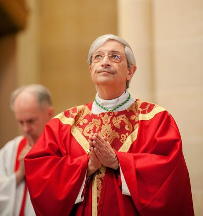 Bishop Salvatore R. Matano celebrates Mass Nov. 6 at Rochester's Sacred Heart Cathedral.