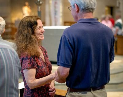 Dan and Kate McBride renewed their vows to one another during the Wedding Jubilee Mass held May 17, 2015. The 2016 Wedding Jubilee Mass is set for May 22 at Sacred Heart Cathedral.