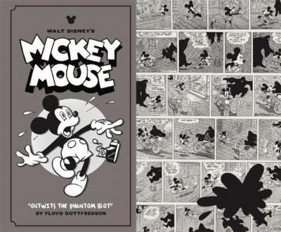 This is an image from Walt Disney's Mickey Mouse comics by legendary artist Floyd Gottfredson.