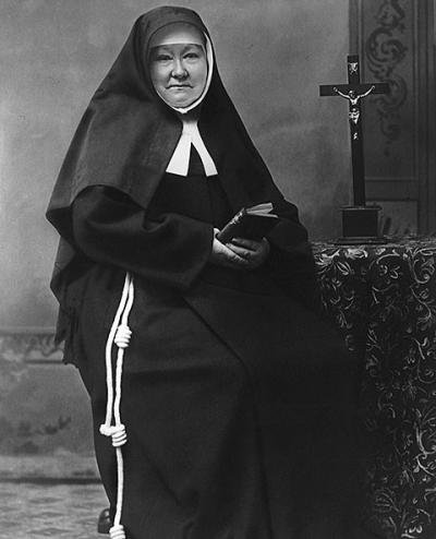 Mother Theresia Bonzel, foundress of the Sisters of St. Francis of Perpetual Adoration, will be beatified Nov. 10 in Paderborn, Germany. She is pictured in an undated portrait.