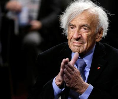 Nobel Laureate Elie Wiesel, a Holocaust survivor and author who fought for peace, human rights and simple human decency, died July 2 at his New York home at age 87. He is pictured in a 2015 photo.