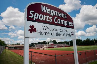 The late Robert B. Wegman, longtime chairman of Wegmans Food Markets Inc. and a 1937 graduate of Rochester's Aquinas Institute, gave more than $25 million to the school.