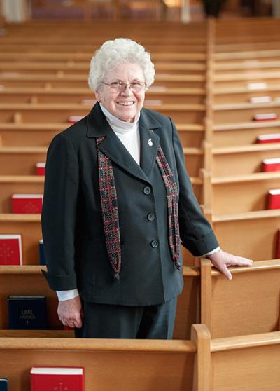 Sister Chris Treichel is retiring as pastoral administrator of Sacred Heart and St. Ann parishes in Auburn and Owasco.