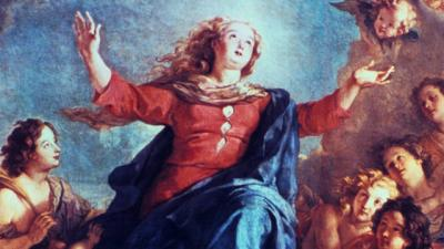 """""""Assumption of the Virgin"""" by Lefasse"""