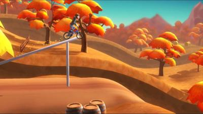 """This is an image from the video game """"Pumped BMX."""" The Catholic News Service classification is A-II -- adults and adolescents. The Entertainment Software Rating Board rating is E 10 + -- Everyone ages 10 and up."""