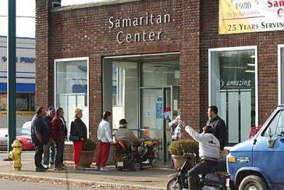 Elmira's Samaritan Center receives funds from the annual Catholic Courier/Catholic Charities Christmas Appeal.
