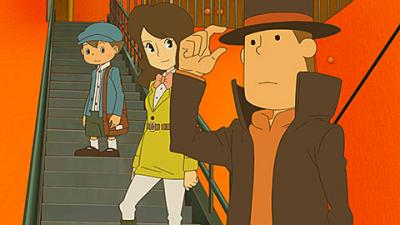 "This is an image from the video game ""Professor Layton and the Azran Legacy"" (Level-5). The Catholic News Service Classification is A-I -- general patronage. The Entertainment Software Rating Board rating is E -- everyone."