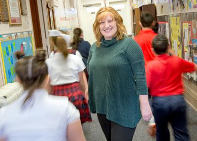 Elizabeth Jensen is the new principal at St. Agnes School in Avon.