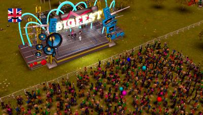 """This is an image from the video game """"BigFest."""" The Catholic News Service classification is A-II -- adults and adolescents. The Entertainment Software Rating Board rating is E10+ -- Everyone 10 and older."""