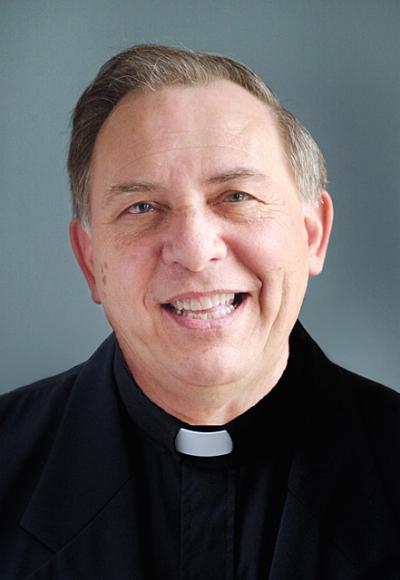 Father Frank Falletta retired in April after serving as pastor of St. Lawrence Parish since 1984.