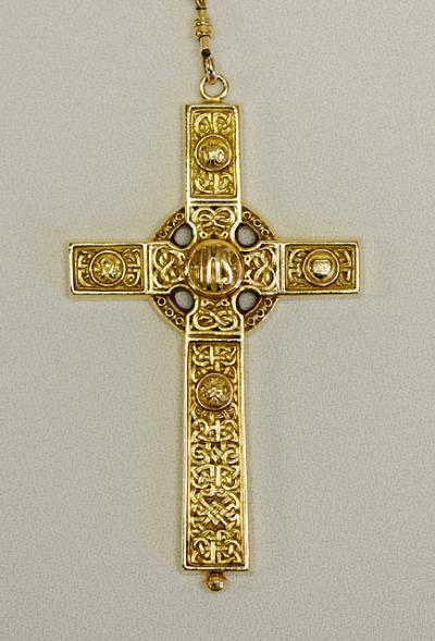 This pectoral cross belongs to Bishop Salvatore R. Matano.